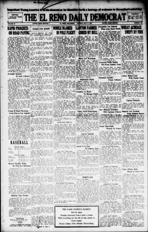 Primary view of object titled 'The El Reno Daily Democrat (El Reno, Okla.), Vol. 37, No. 138, Ed. 1 Monday, July 2, 1928'.