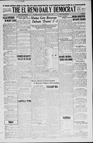 Primary view of object titled 'The El Reno Daily Democrat (El Reno, Okla.), Vol. 35, No. 188, Ed. 1 Tuesday, August 24, 1926'.