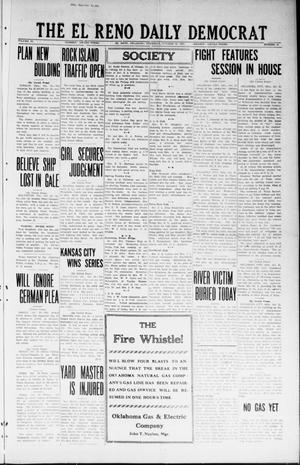 Primary view of object titled 'The El Reno Daily Democrat (El Reno, Okla.), Vol. 33, No. 43, Ed. 1 Thursday, October 25, 1923'.