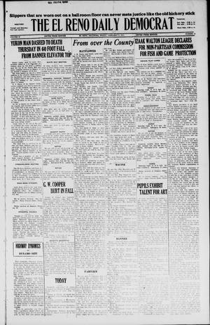 Primary view of object titled 'The El Reno Daily Democrat (El Reno, Okla.), Vol. 36, No. 19, Ed. 1 Friday, February 11, 1927'.