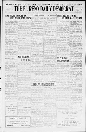 Primary view of The El Reno Daily Democrat (El Reno, Okla.), Vol. 34, No. 322, Ed. 1 Saturday, January 23, 1926