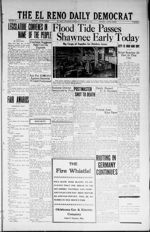 Primary view of object titled 'The El Reno Daily Democrat (El Reno, Okla.), Vol. 33, No. 36, Ed. 1 Wednesday, October 17, 1923'.