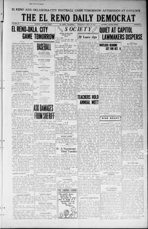 Primary view of object titled 'The El Reno Daily Democrat (El Reno, Okla.), Vol. 33, No. 18, Ed. 1 Wednesday, September 26, 1923'.