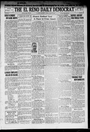 Primary view of object titled 'The El Reno Daily Democrat (El Reno, Okla.), Vol. 38, No. 158, Ed. 1 Monday, August 5, 1929'.
