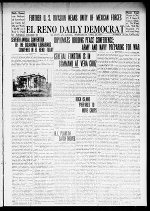 Primary view of object titled 'El Reno Daily Democrat (El Reno, Okla.), Vol. 24, No. 50, Ed. 1 Wednesday, April 29, 1914'.