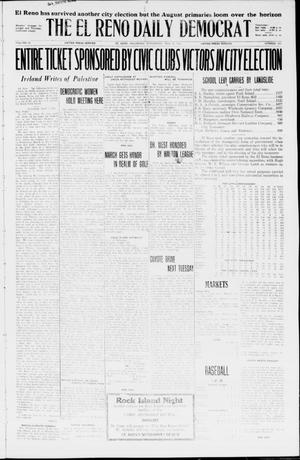 Primary view of object titled 'The El Reno Daily Democrat (El Reno, Okla.), Vol. 35, No. 103, Ed. 1 Wednesday, May 12, 1926'.