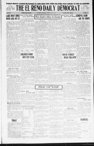 Primary view of object titled 'The El Reno Daily Democrat (El Reno, Okla.), Vol. 36, No. 159, Ed. 1 Friday, July 29, 1927'.