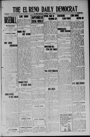 Primary view of object titled 'The El Reno Daily Democrat (El Reno, Okla.), Vol. 33, No. 272, Ed. 1 Wednesday, July 23, 1924'.