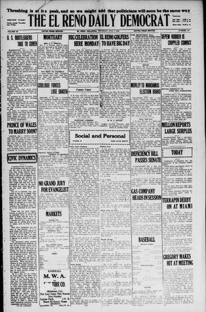 Primary view of The El Reno Daily Democrat (El Reno, Okla.), Vol. 35, No. 144, Ed. 1 Thursday, July 1, 1926