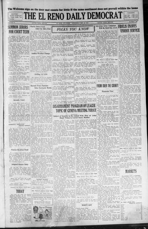 Primary view of object titled 'The El Reno Daily Democrat (El Reno, Okla.), Vol. 36, No. 263, Ed. 1 Wednesday, November 30, 1927'.