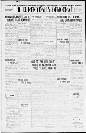 Primary view of object titled 'The El Reno Daily Democrat (El Reno, Okla.), Vol. 35, No. 87, Ed. 1 Thursday, April 22, 1926'.