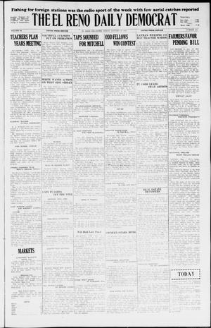 Primary view of object titled 'The El Reno Daily Democrat (El Reno, Okla.), Vol. 34, No. 327, Ed. 1 Friday, January 29, 1926'.