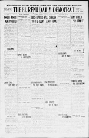 Primary view of The El Reno Daily Democrat (El Reno, Okla.), Vol. 35, No. 56, Ed. 1 Thursday, March 18, 1926