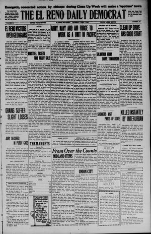 Primary view of The El Reno Daily Democrat (El Reno, Okla.), Vol. 34, No. 173, Ed. 1 Thursday, April 2, 1925