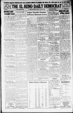 Primary view of object titled 'The El Reno Daily Democrat (El Reno, Okla.), Vol. 37, No. 180, Ed. 1 Monday, August 27, 1928'.