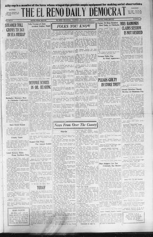 Primary view of object titled 'The El Reno Daily Democrat (El Reno, Okla.), Vol. 36, No. 235, Ed. 1 Thursday, October 27, 1927'.
