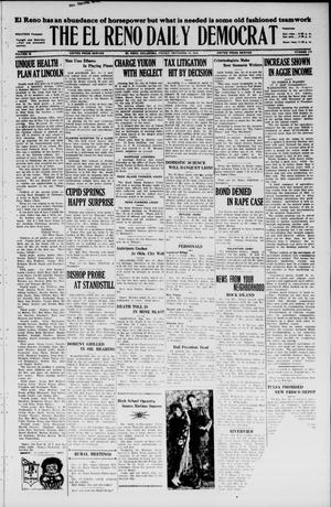 Primary view of object titled 'The El Reno Daily Democrat (El Reno, Okla.), Vol. 35, No. 279, Ed. 1 Friday, December 10, 1926'.