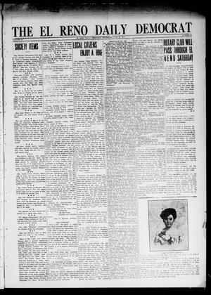 Primary view of object titled 'The El Reno Daily Democrat (El Reno, Okla.), Vol. 24, No. 93, Ed. 1 Thursday, June 18, 1914'.
