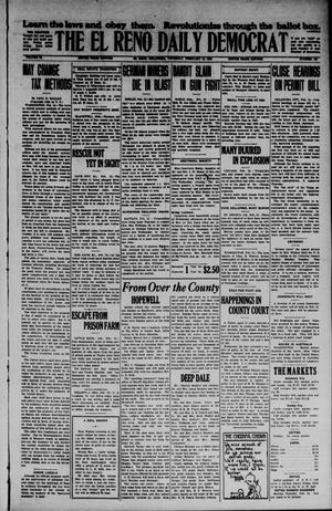 Primary view of The El Reno Daily Democrat (El Reno, Okla.), Vol. 34, No. [132], Ed. 1 Thursday, February 12, 1925
