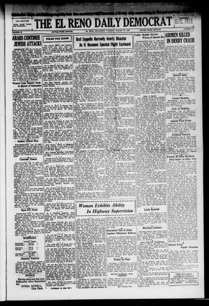 Primary view of The El Reno Daily Democrat (El Reno, Okla.), Vol. 38, No. 177, Ed. 1 Tuesday, August 27, 1929
