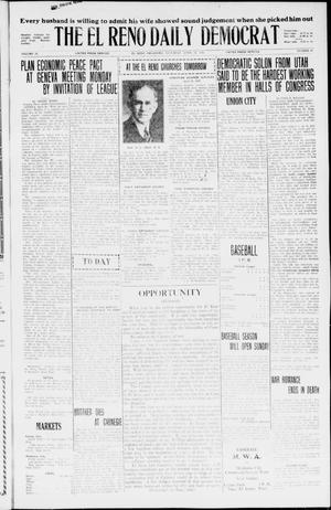 Primary view of object titled 'The El Reno Daily Democrat (El Reno, Okla.), Vol. 35, No. 88, Ed. 1 Saturday, April 24, 1926'.