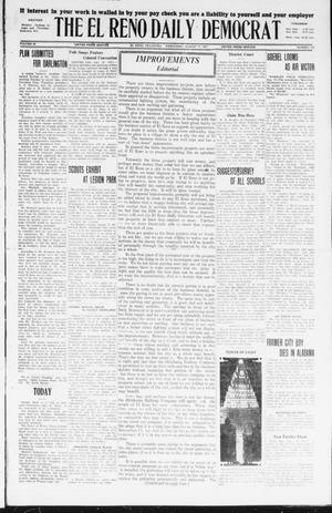 Primary view of object titled 'The El Reno Daily Democrat (El Reno, Okla.), Vol. 36, No. 175, Ed. 1 Wednesday, August 17, 1927'.