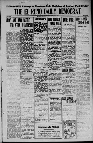 Primary view of object titled 'The El Reno Daily Democrat (El Reno, Okla.), Vol. 34, No. 38, Ed. 1 Thursday, October 23, 1924'.