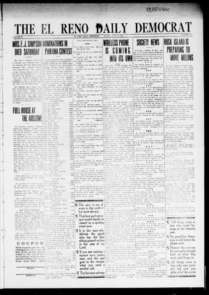 Primary view of object titled 'The El Reno Daily Democrat (El Reno, Okla.), Vol. 24, No. 113, Ed. 1 Monday, July 6, 1914'.