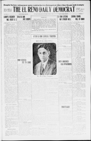 Primary view of object titled 'The El Reno Daily Democrat (El Reno, Okla.), Vol. 35, No. 82, Ed. 1 Saturday, April 17, 1926'.