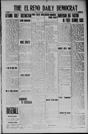 Primary view of object titled 'The El Reno Daily Democrat (El Reno, Okla.), Vol. 33, No. 294, Ed. 1 Monday, August 18, 1924'.
