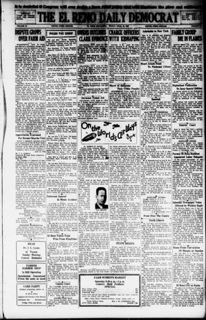 Primary view of object titled 'The El Reno Daily Democrat (El Reno, Okla.), Vol. 38, No. 65, Ed. 1 Friday, April 19, 1929'.