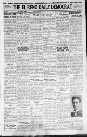 Primary view of object titled 'The El Reno Daily Democrat (El Reno, Okla.), Vol. 37, No. 25, Ed. 1 Saturday, February 25, 1928'.