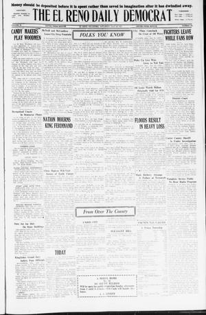 Primary view of object titled 'The El Reno Daily Democrat (El Reno, Okla.), Vol. 36, No. 154, Ed. 1 Saturday, July 23, 1927'.