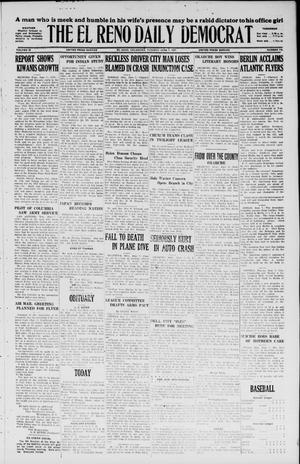 Primary view of object titled 'The El Reno Daily Democrat (El Reno, Okla.), Vol. 36, No. 116, Ed. 1 Tuesday, June 7, 1927'.