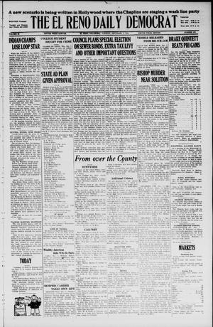 Primary view of The El Reno Daily Democrat (El Reno, Okla.), Vol. 35, No. 276, Ed. 1 Tuesday, December 7, 1926