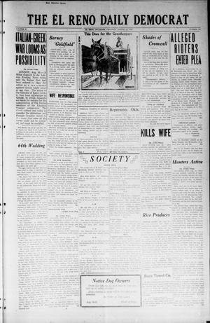 Primary view of object titled 'The El Reno Daily Democrat (El Reno, Okla.), Vol. 32, No. 308, Ed. 1 Thursday, August 30, 1923'.