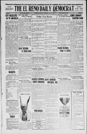Primary view of The El Reno Daily Democrat (El Reno, Okla.), Vol. 36, No. 123, Ed. 1 Wednesday, June 15, 1927