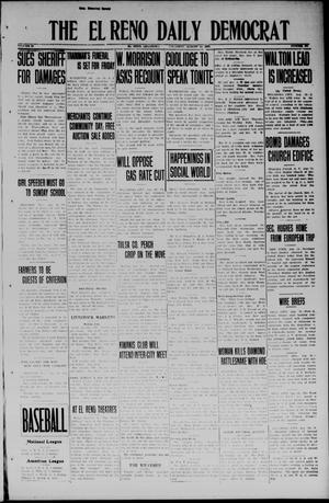 Primary view of object titled 'The El Reno Daily Democrat (El Reno, Okla.), Vol. 33, No. 291, Ed. 1 Thursday, August 14, 1924'.