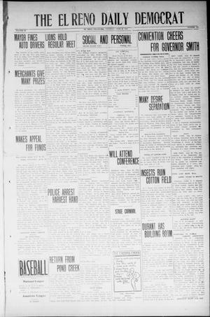 Primary view of object titled 'The El Reno Daily Democrat (El Reno, Okla.), Vol. 33, No. 249, Ed. 1 Thursday, June 26, 1924'.