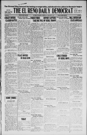 Primary view of object titled 'The El Reno Daily Democrat (El Reno, Okla.), Vol. 36, No. 17, Ed. 1 Wednesday, February 9, 1927'.