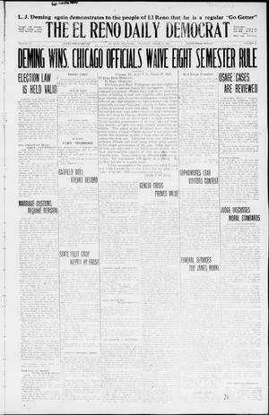 Primary view of object titled 'The El Reno Daily Democrat (El Reno, Okla.), Vol. 35, No. 64, Ed. 1 Saturday, March 27, 1926'.