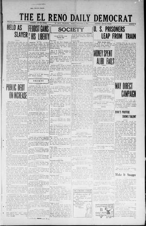 Primary view of object titled 'The El Reno Daily Democrat (El Reno, Okla.), Vol. 33, No. 85, Ed. 1 Friday, December 14, 1923'.