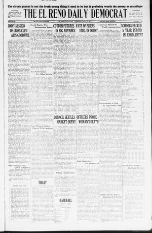 Primary view of object titled 'The El Reno Daily Democrat (El Reno, Okla.), Vol. 36, No. 192, Ed. 1 Thursday, September 8, 1927'.