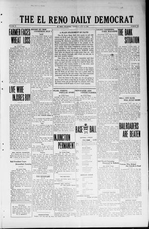 Primary view of object titled 'The El Reno Daily Democrat (El Reno, Okla.), Vol. 32, No. 266, Ed. 1 Thursday, July 12, 1923'.