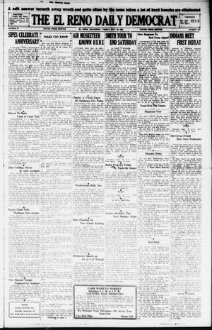 Primary view of object titled 'The El Reno Daily Democrat (El Reno, Okla.), Vol. 37, No. 207, Ed. 1 Friday, September 28, 1928'.