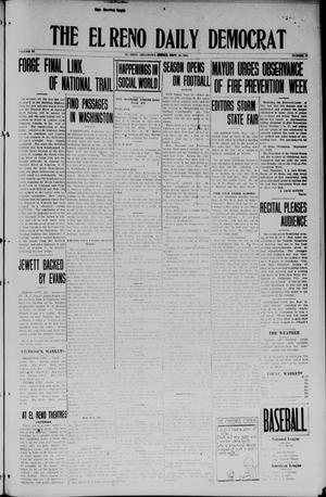 Primary view of object titled 'The El Reno Daily Democrat (El Reno, Okla.), Vol. 34, No. 15, Ed. 2 Friday, September 26, 1924'.