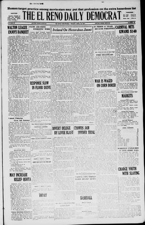 Primary view of object titled 'The El Reno Daily Democrat (El Reno, Okla.), Vol. 36, No. 85, Ed. 1 Friday, April 29, 1927'.