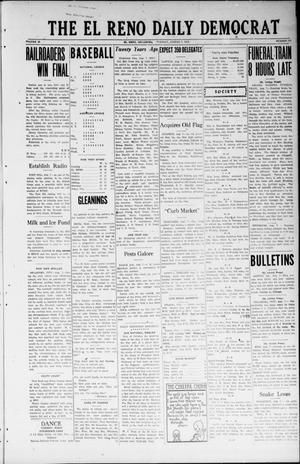 Primary view of object titled 'The El Reno Daily Democrat (El Reno, Okla.), Vol. 32, No. 288, Ed. 1 Tuesday, August 7, 1923'.