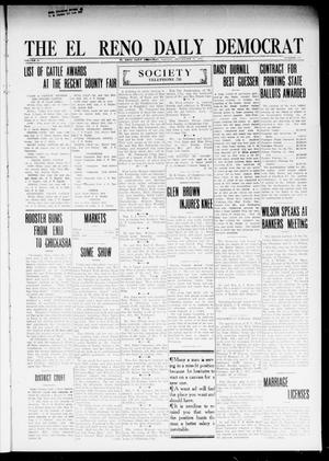 Primary view of object titled 'The El Reno Daily Democrat (El Reno, Okla.), Vol. 24, No. 177, Ed. 1 Monday, September 21, 1914'.