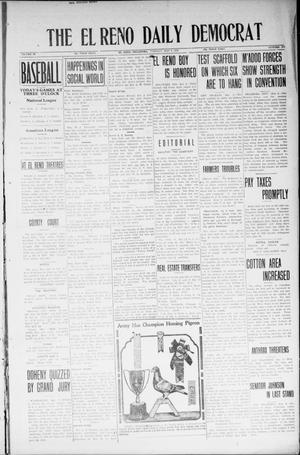 Primary view of object titled 'The El Reno Daily Democrat (El Reno, Okla.), Vol. 33, No. 205, Ed. 1 Tuesday, May 6, 1924'.